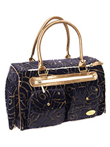 Velvet Tapestry Pet Carrier - A beautiful soft feel textured carrier that is not only practical but also great to look at and is soft to the touch. Unlike other bags, this Pet Carrier is specifically designed to make your pet's journey as comfortable and as safe as possible. There a mesh window at one end of the bag to provide v...