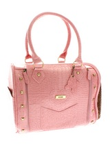 Cannes Pet Carrier - A pet carrier fit for a pink princess! This fashionable bag not only looks great for you, it is also a practical pet carrier. Unlike ordinary bags, the Cannes Pet Carrier is specifically designed to be a pet carrier, and can be used in several ways to make your pet's journey as comfortable and as sa...