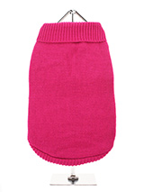 Bruiser's Pink Knitted Sweater - The Pink Knitted Turtle Neck Sweater as worn by Bruiser the Chihuahua in Legally Blonde The Musical, starring in London's West End. Bruiser's Pink Knitted Turtle Neck Sweater is made from a high quality natural wool. The soft roll-neck sweater is easy to put on and take off your pup.<br /><br />Urba...