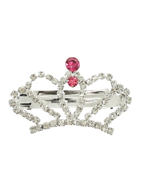 Empress Crown Swarovski Hair Clip / Dog Barrette