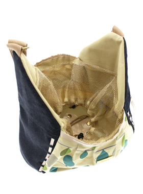 Denim Leaf Pet Sling