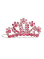 Regal Pink Crown Swarovski Hair Clip / Dog Barrette